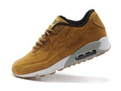 Buty Damskie Nike Air Max 90 Vt Prm 486988 700 Beżowe