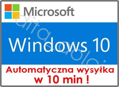 Microsoft Windows 10 Pro Pelna Wersja Pl W 10 Min 6633208356 Oficjalne Archiwum Allegro