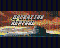 OPERATION NEPTUN -   ATARI ST  - BOX