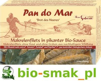 MAKRELA W BIO PIKANTNYM SOSIE 120 g PAN DO MAR