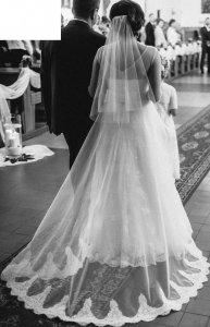 Suknia ślubna Papilio 1424 Delfina Roz 3638 6225554733