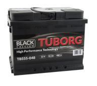 AKUMULATOR TUBORG BLACK CALCIUM 55AH 480A P+