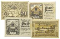 23.cp.Austria, Zest.Banknotów szt.4, St.1/1-