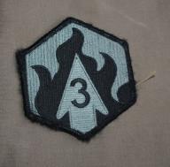 naszywka U S ARMY US 3rd Chemical Brigade acu