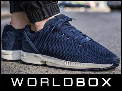 buty adidas zx flux collegiate navy