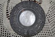 popielniczka z cyny-znaki zodiaku