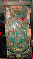 PLAYFIELD-BLAT OD FLIPPERA BALLY POOL SHARKS