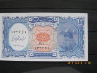 136.  Banknot  Egipt 10 piastres UNC