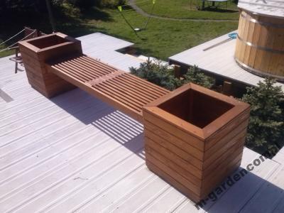 M Garden Donica Drewniana Nr 65 Donice Drewniane