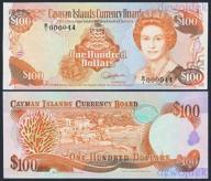 MAX - KAJMANY 100 Dollars 1991 CAYMAN nr 44 # UNC