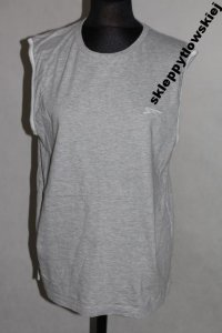 slazenger koszulka bokserka L cotton grey