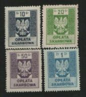 4 znaczki opłaty skarbowej - 1