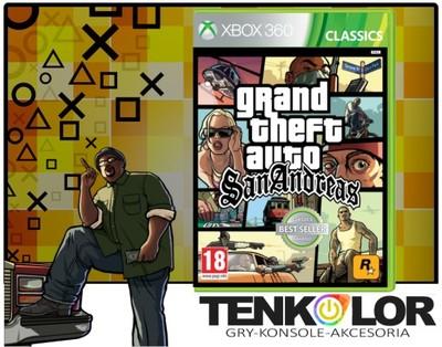 Gta San Andreas Nowa Sklep Najtaniej Xbox 360 6529361814 Oficjalne Archiwum Allegro