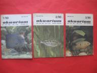 AKWARIUM Rybki Rośliny 3 numery ROK 1990