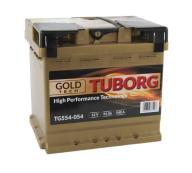 AKUMULATOR TUBORG GOLD TECH 54AH 540A P+