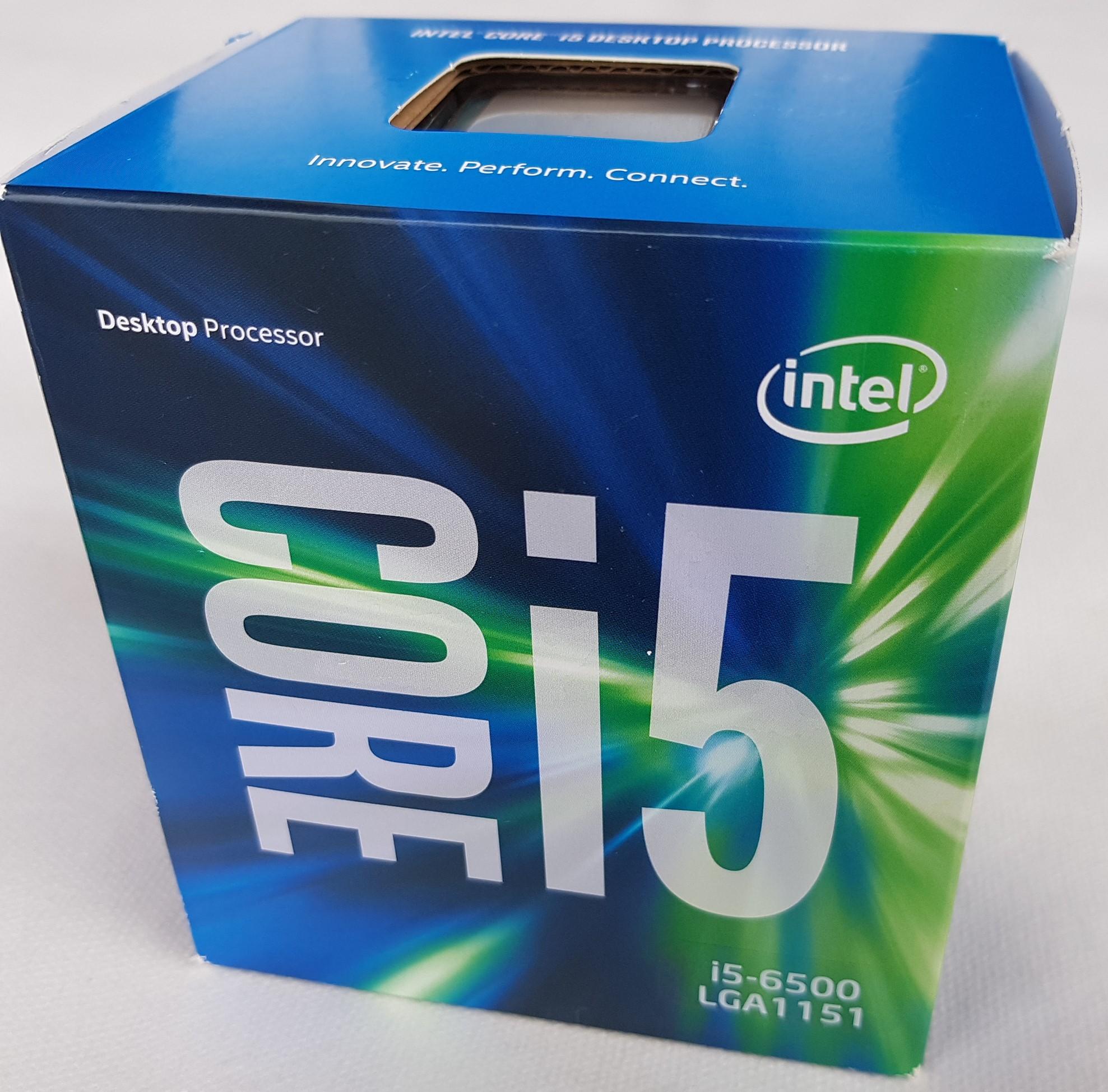 i5-6500 BOX 1151 Z170 Z270 3,6GHz GW do 11.04.2019