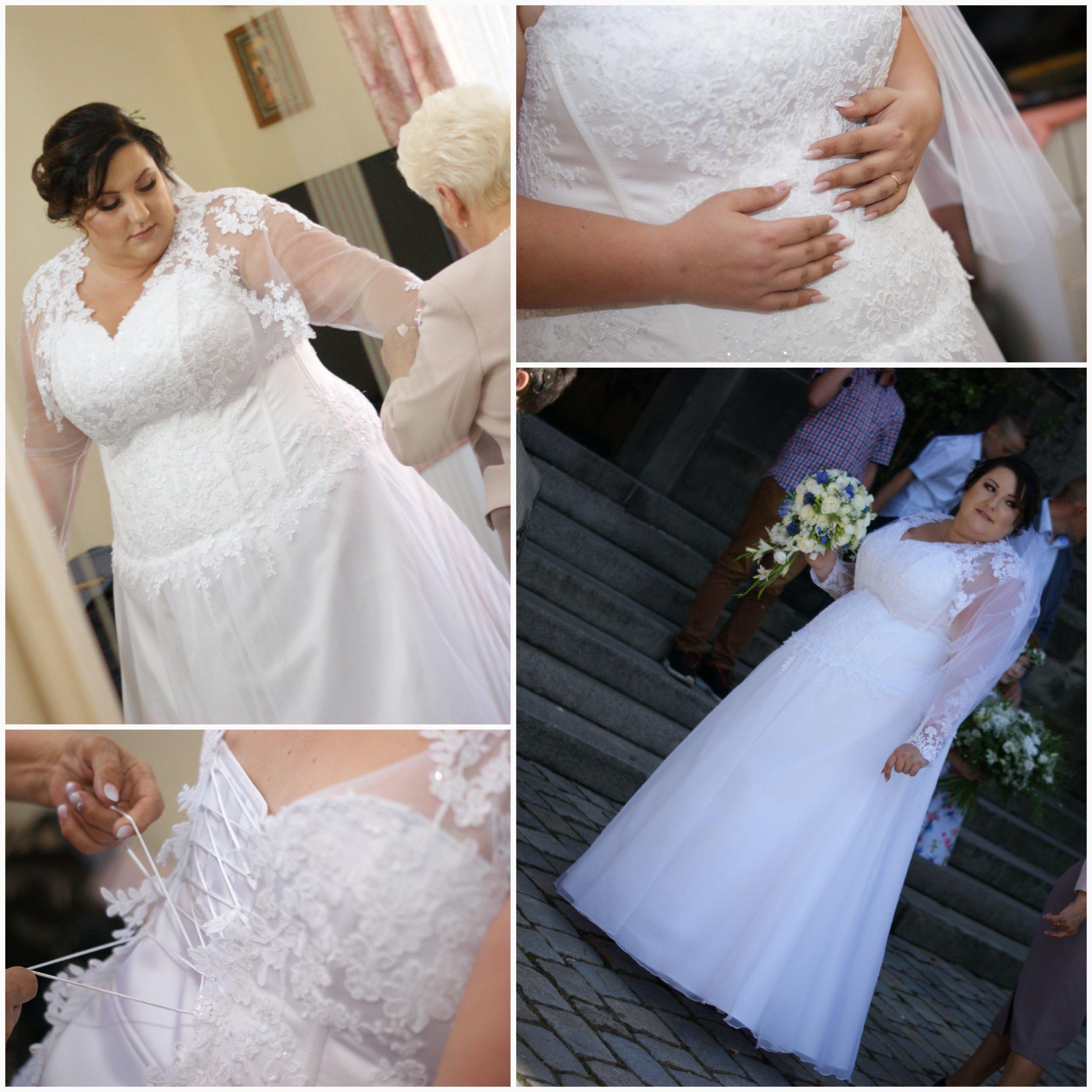 Suknia ślubna 48 54 Plus Size Xxl 7049723216 Oficjalne Archiwum