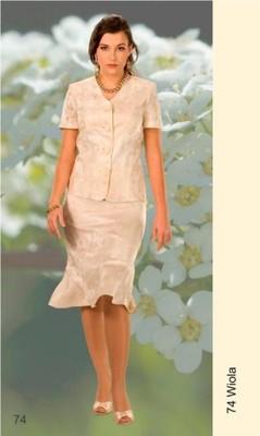 5a81c06f8b Elegancka garsonka na wesele Viola r. 46-56 - 5256155992 - oficjalne ...