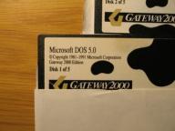 Gratka -MS DOS v. 5.0, dyskietki 5,25 cala!