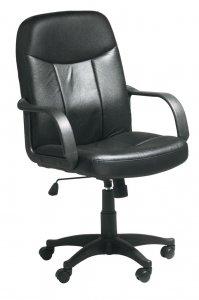 Krzesło biurowe NIMTOFTE czarne | JYSK