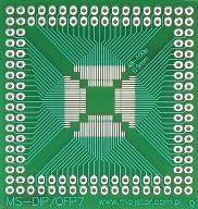 [LISPOL] Adapter uniwersalny DIP - QFP48-QFP100