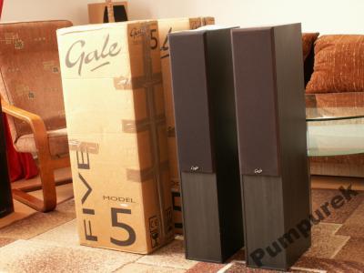 Kolumny Stereo Gale Model 5 Zasypane Piaskiem!