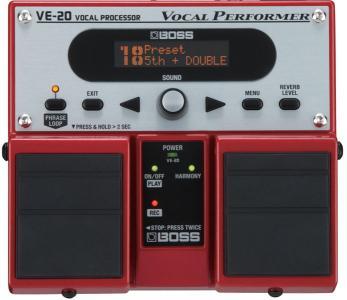 Procesor wokalowy BOSS VE-20 VOCAL PROCESSOR