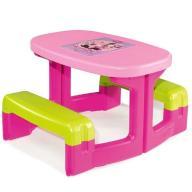 SMOBY Stolik Piknikowy Minnie
