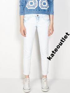 WYPRZEDAŻ !!! SINSAY jeansy jasne 38 z koronką