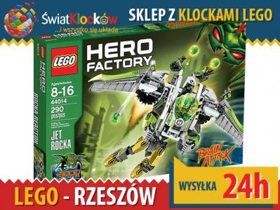 Sklep Lego Hero Factory 44014 Jet Rocka Rzeszów 5583803094