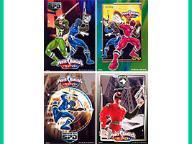 karteczki Power Rangers A6 MAŁE __ WZORY