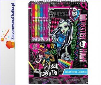aa146ae937d50 Monster High Welwetowe Pocztówki - 5206448168 - oficjalne archiwum ...