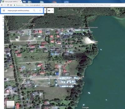 Działka budowlana Przełazy blisko jezioro 720m2