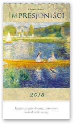 Kalendarz reklamowy 2018 - Impresjoniści RW1  24h