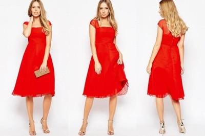 52166a6785cd4 Sukienka ASOS midi bez rękawów wieczorowa-38 (M) - 6824244329 ...