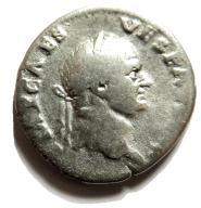 AC- WESPAZJAN (69-79), denar, SALUS, 73 rok., 2,8g