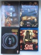 Ozzy Osbourne / Black Sabbath - 3x DVD + Blu Ray