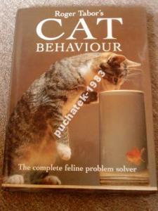 --CAT BEHAVIOUR książka z UK--