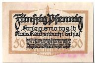 50 pfennig Kreis Reichenbach - Powiat Dzierżoniów