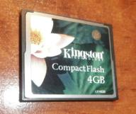 Karta KINGSTON 4GB Compact Flash CF
