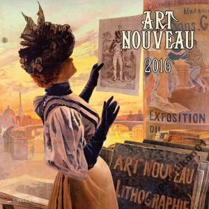 Kalendar 2016 Stare Plakaty Art Nouveau Wyprzedaż