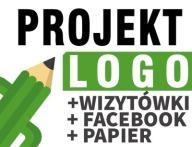 Projekt LOGO   LOGOTYP + wiz + pap + Facebook /24H