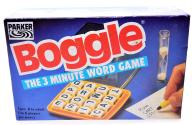 5880-69 .PARKER . m#d GRA BOGGLE THE 3 MINUTE WORD
