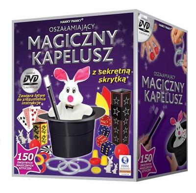 HANKY PANKY MAGICZNY KAPELUSZ 150 sztuczek + DVD