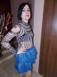 Body Azteckie Wzory Celtyckie Tatuaże 6024233379