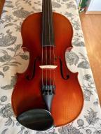 Piękne stare skrzypce 4/4 z okresu powojennego.