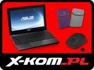 ASUS Eee PC 1225B 1215B C-60 2GB 7h Win7 + ZESTAW