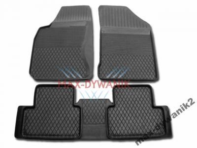 Gumowe dywaniki samochodowe Honda Insight +Osłona