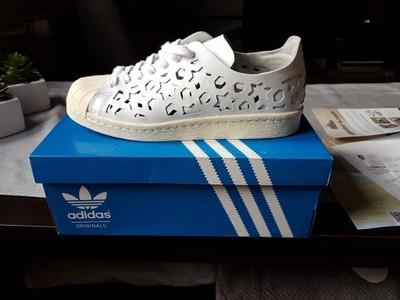 niższa cena z super jakość wyglądają dobrze wyprzedaż buty adidas superstar 80s Cut out W White 38 2/3 - 6922137277 ...