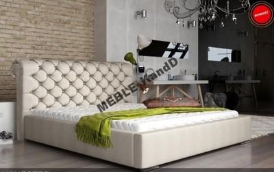 tapicerowane łóżko MANCHESTER 180x200 + pojemnik